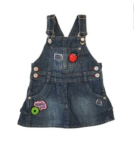 Boboli Patches Overall Dress