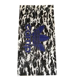 Custom Camo & Blue Logo Beach Towel