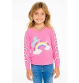 Chaser Rainbows & Unicorns Pullover