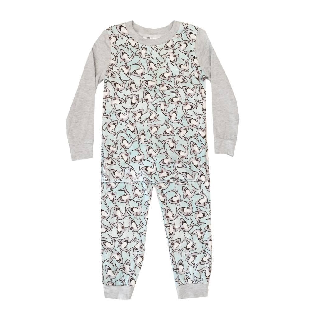 Esme Boys Sharks 2pc Pajama Set