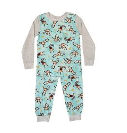 Esme Boys Monkeys 2pc Pajama Set