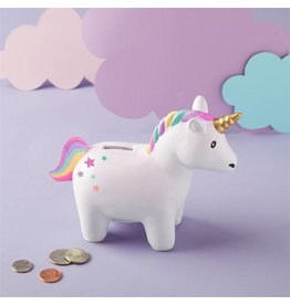 Rainbow Unicorn Coin Bank