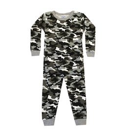 Baby Steps Black Camo PJ Set