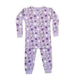 Baby Steps Lavender Stars PJ Set