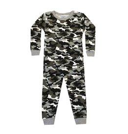 Baby Steps Black Camo Infant PJ Set