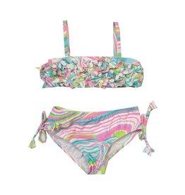 Kate Mack Floral Swirl Infant Bikini