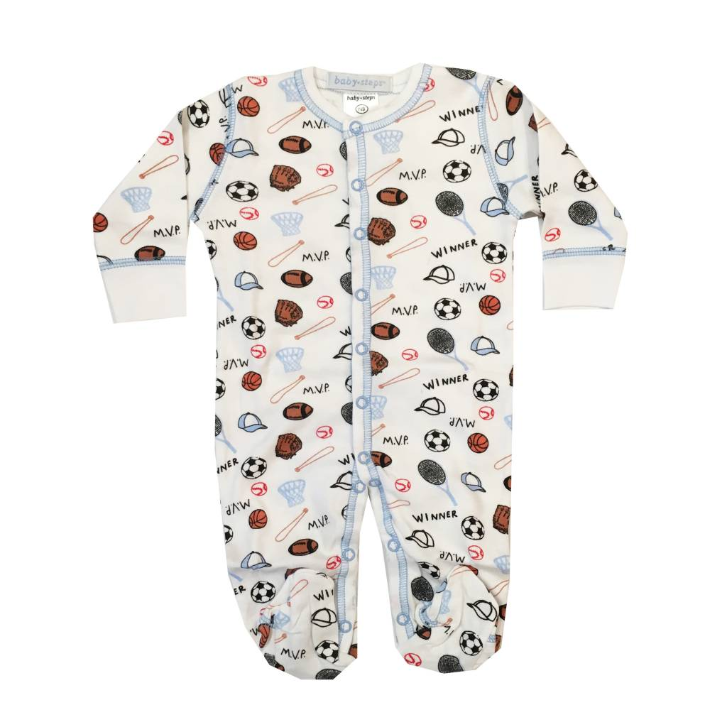 Baby Steps Sports Footie