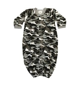 Baby Steps Black Camo Convertible Gown