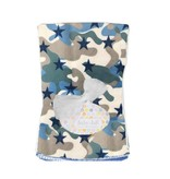 Baby Jar Camo Stars Burp Cloth