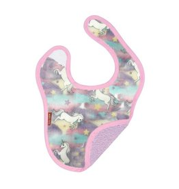 Baby Jar Pastel Unicorns Bib