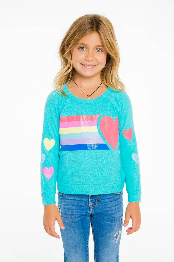Chaser Hearts Pullover