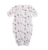 Baby Steps Pastel Stars Convertible Gown