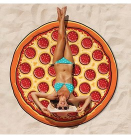 Oversized Pizza Beach Blanket