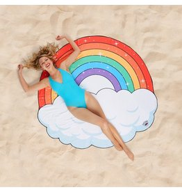 Oversized Rainbow Beach Blanket