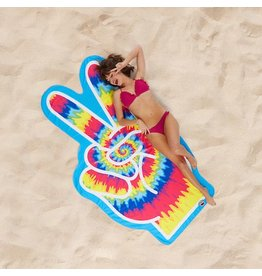 Oversized Peace Beach Blanket