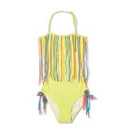 Stella Cove Open Back String Halter Swimsuit