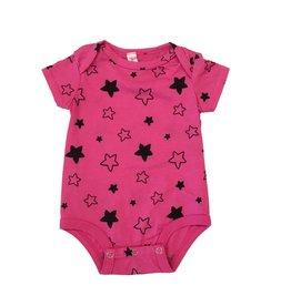 Pink Peony Star Bright Onesie