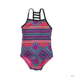 Ingear Lattice Back 1pc Swimsuit