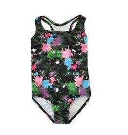 Dori Creations Splatter Camo Swimsuit