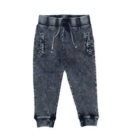 Mish Infant Distressed Denim Joggers