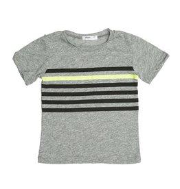 Joah Love Stripe Print Infant Tee