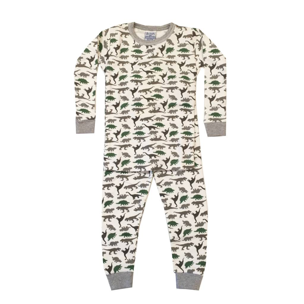 Baby Steps Dinosaur Infant PJ Set