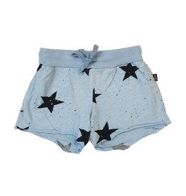 T2Love Raw Edge Star Shorts