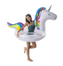 Glitter Unicorn Pool Float