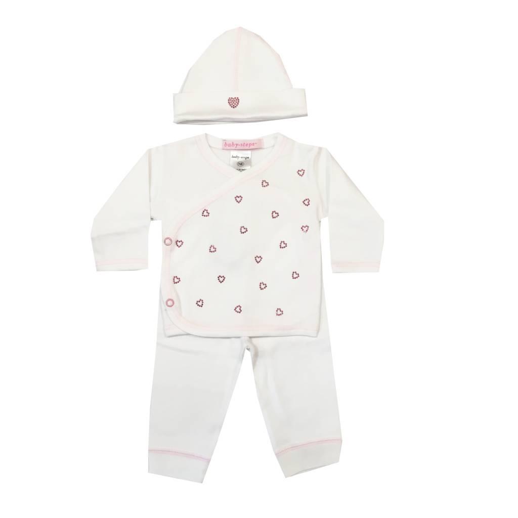 Baby Steps Mini Hearts 3pc Set