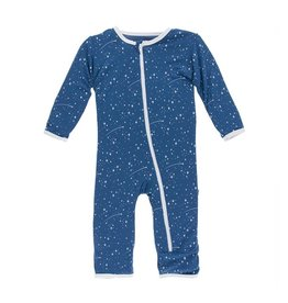 Kickee Pants Starry Sky Zipper Coverall