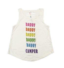 Malibu Sugar Happy Happy Camper Tank