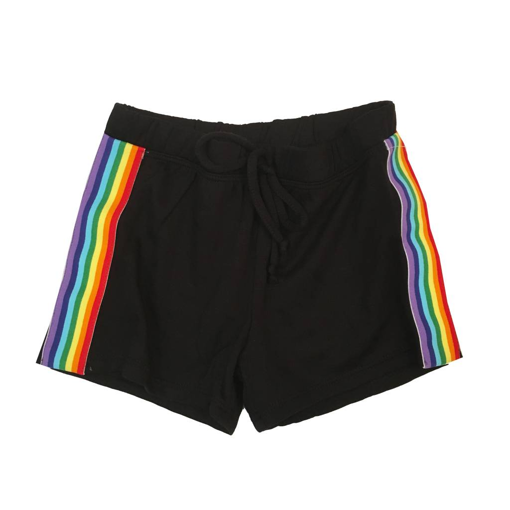 Malibu Sugar Rainbow Stripe Shorts