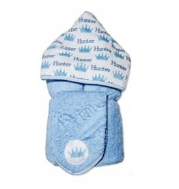 Custom Boy Hooded Towel & Washcloth