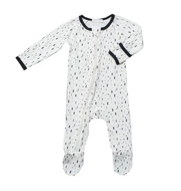 Bestaroo Falling Feathers Zipper Footie