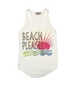 Firehouse Beach Please Ribbed Tank
