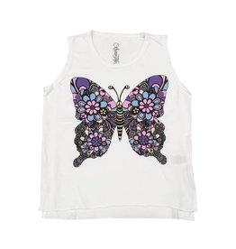 Lauren Moshi Retro Butterfly Tank