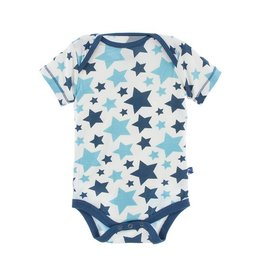 Kickee Pants Blue Star Onesie