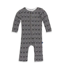 Kickee Pants Bulldog Coverall