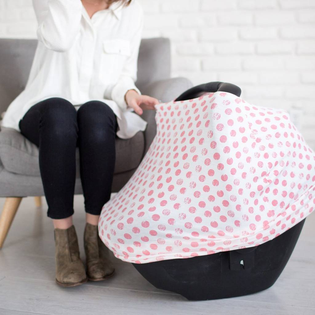 Copper Pearl Pink Dot Multi-Use Cover