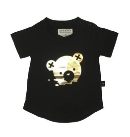 Huxbaby Gold Melting Bear Tee