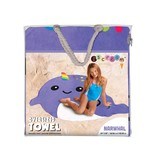 iScream Narwhal Beach Towel