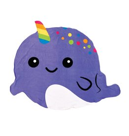 iScream Narwhal Beach Towel