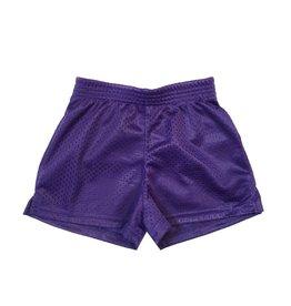 Dori Purple Mesh Shorts