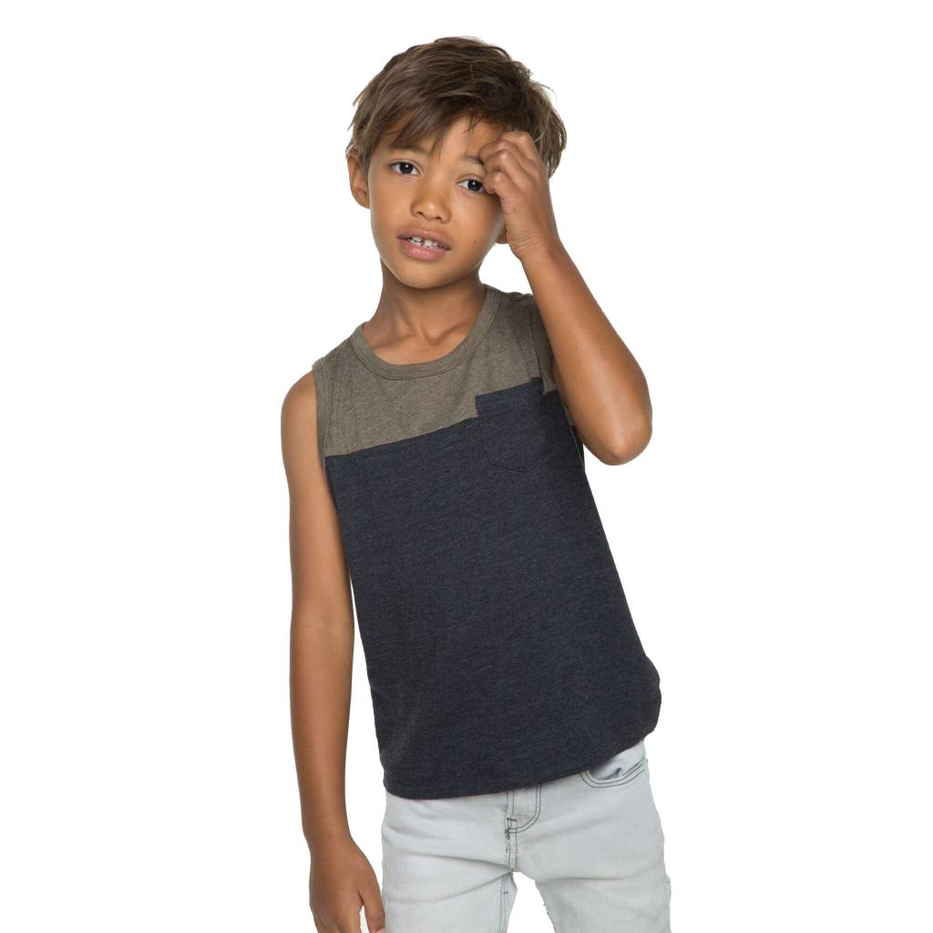 Chaser Blocked Muscle Tank