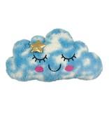 iScream Light Up Furry Cloud Pillow