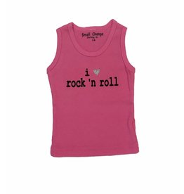 Small Change I Love Rock 'N Roll Tank