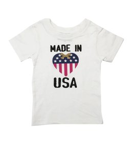 Small Change Made in the USA Heart Tee