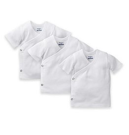 Gerber 3pk Side Snap Shirts