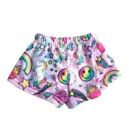 Unicorn Couture Plush Lounge Shorts