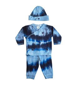 Baby Steps Tie Dye Stars 3pc Take-Home Set